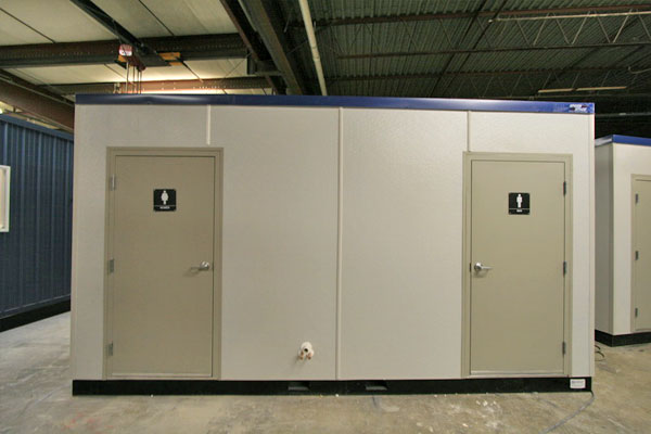 Modular Restrooms Prefabricated Washroom Portable Locker