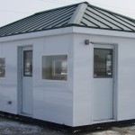 portable booth hip roof