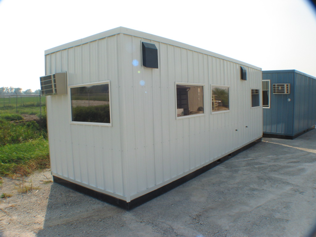 Prefabricated Booths Guard Shacks Equipment Shelters Control Rooms #4C602E